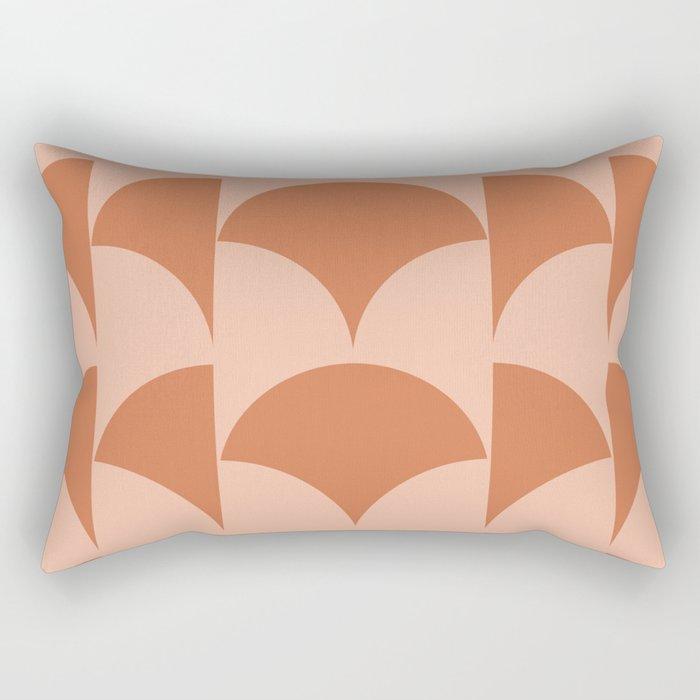 Cleo Pattern - Sunset Rectangular Pillow