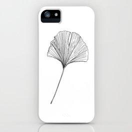 gingko four iPhone Case