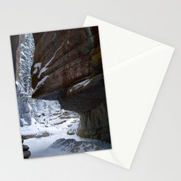 Maligne Canyon Icewalk Stationery Cards