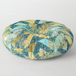 Marble Glitz Floor Pillow