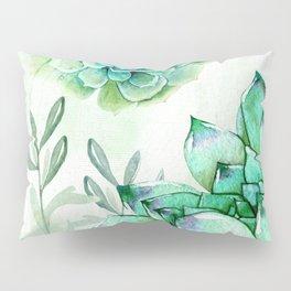 Irish Mint Garden Pillow Sham