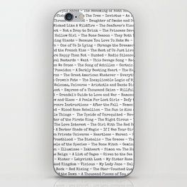 Book Titles iPhone Skin