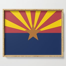 Flag of Arizona Serving Tray