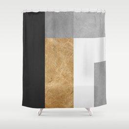 Modern geometry VI Shower Curtain
