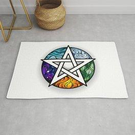 Bright Pentagram Rug