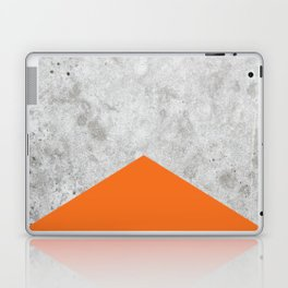 Concrete Arrow Orange #118 Laptop & iPad Skin