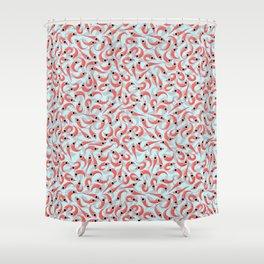 Polar Krill Shower Curtain