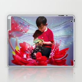 Red Bug Fairy Laptop & iPad Skin