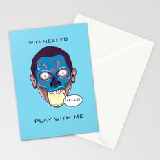 Rockarture Movie| They Live Stationery Cards