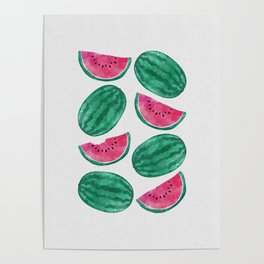 Watermelon Crowd Poster