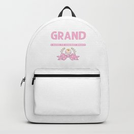 First Time Grand Mother To Be Gift Backpack
