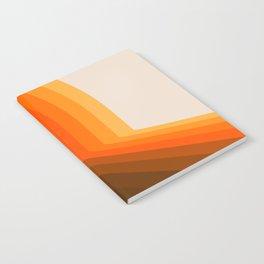 Golden Halfbow Notebook