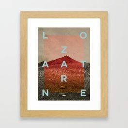 Lanzarote1 Framed Art Print