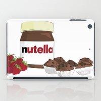 nutella iPad Cases featuring Happy break! by Cristina Munoz