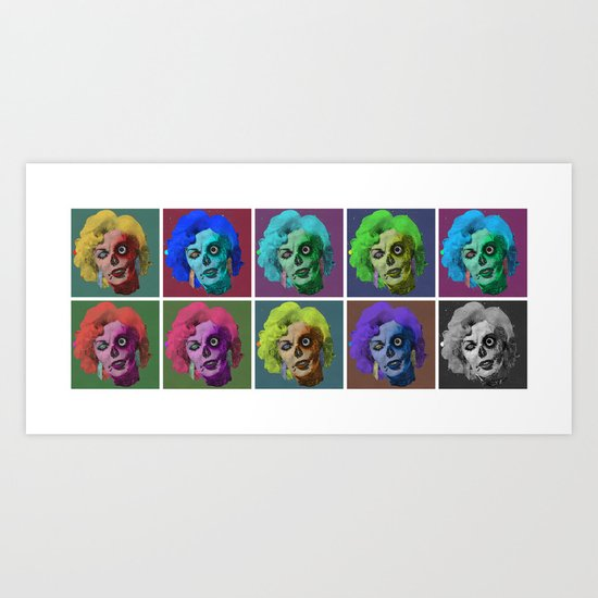 Zombies are a Girl's Best Friend Art Print