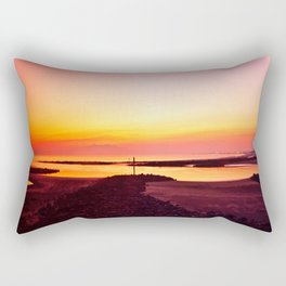 Sun Setting Over Irvine  Rectangular Pillow