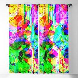 experimental art Blackout Curtain