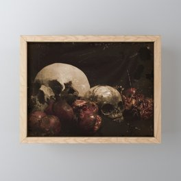 The Ripened Wisdom of the Dead Framed Mini Art Print