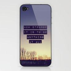 How Strange iPhone & iPod Skin