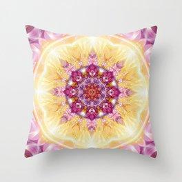 Flower of Life Mandalas 14 Throw Pillow