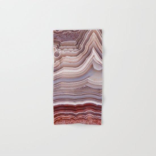 Agate Crystal Hand & Bath Towel