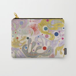 Wassily Kandinsky - Capricious Forms Carry-All Pouch