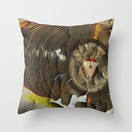 Old Music Throw Pillow