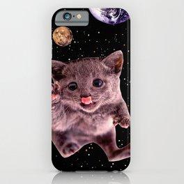 Kitten. In. Spaaace. iPhone Case