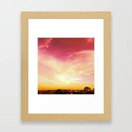 Sky in Singapore Framed Art Print
