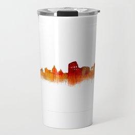 Rome city skyline HQ v02 Travel Mug