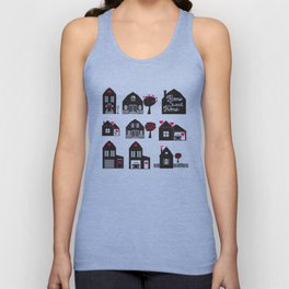 Home Sweet Home. Dreams and Memories. Unisex Tank Top