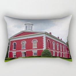 Iron County Courthouse in Ironton, Missouri Rectangular Pillow
