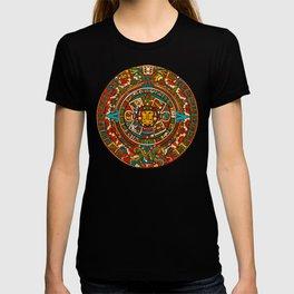 Aztec Mythology Calendar T-shirt