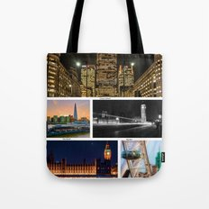 On a clear day, you can see London Tote Bag