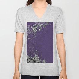 Purple Mold Unisex V-Neck