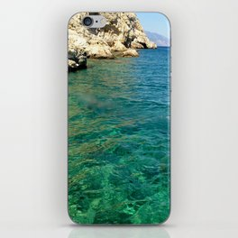 Clearest water iPhone Skin