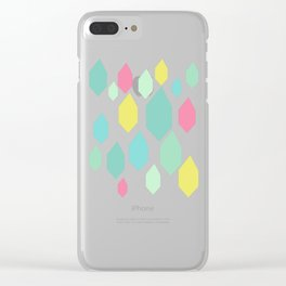 Diamond Shower II Clear iPhone Case