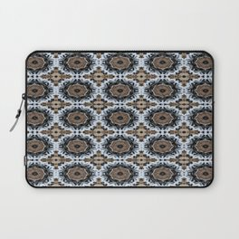 An abstract Tiger's Eye Background Laptop Sleeve