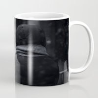 conan Mugs featuring Waiting for Conan by Benjamin Hunter