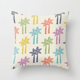 Palm Tree Pattern 22 Throw Pillow