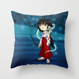 Kikyo Throw Pillow