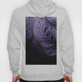 Palm Leaves Ultra Violet Vibes #1 #tropical #decor #art #society6 Hoody