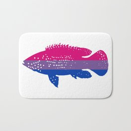 Bi Pride Jewel Fish Bath Mat