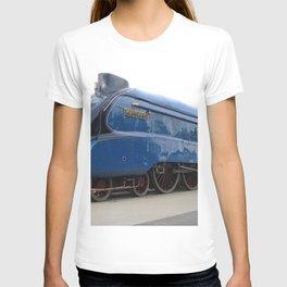 Vintage Train on Railroad T-shirt