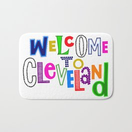 Welcome to Cleveland Bath Mat