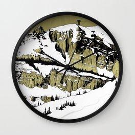 Jackson Hole Wall Clock