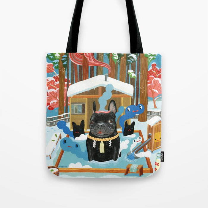 """French Onsen"" Tote Bag"