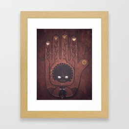 African Creation Goddess Framed Art Print