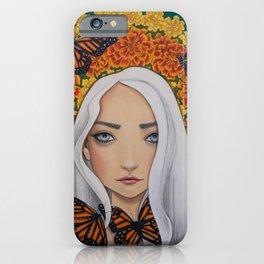October - Marigold iPhone Case