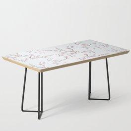 SAKURA LOVE - GRUNGE WHITE Coffee Table